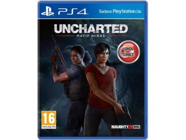 PS4 UNCHARTED KAYIP MIRAS TURKCE
