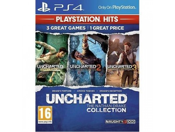 PS4 UNCHARTED THE NATHAN DRAKE COLLECTION TURKCE ALT YAZILI