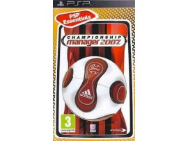 PSP CHAMPIONSHIP MANAGER 2007