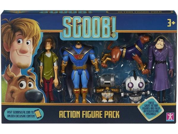 Scooby Doo Scoob 6 Parcali Action Figür Seti