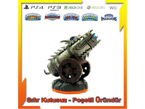 SKYLANDERS GIANTS DRAGONFIRE CANNON SIFIR (POSETLI URUN)