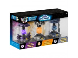 SKYLANDERS IMAGINATORS CRYSTAL 3 PACK 2 MAGIC TECH UNDEAD