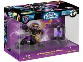 SKYLANDERS IMAGINATORS SENSEI COMBO PACK MYSTICAT MAGIC CRYSTAL FIGUR
