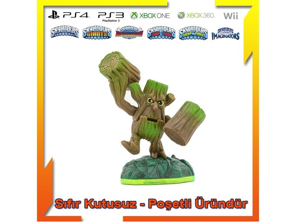 SKYLANDERS SPYRO'S ADVENTURE STUMP SMASH SIFIR (POSETLI URUN)