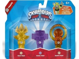 SKYLANDERS TRAP TEAM 3LU TUZAK TECH + MAGIC + EARTH