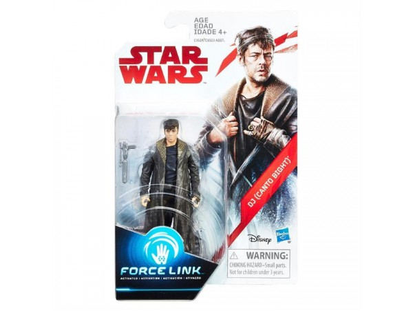 STAR WARS FORCE LINK DJ CANTO BIGHT FIGUR 10 CM