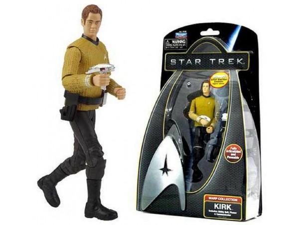 Startrek Warp Collection Captain Kirk With S.S Emblem Figürü