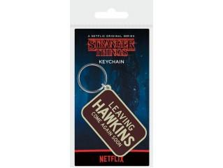 Stranger Things Leaving Hawkins - Lisansli Anahtarlık