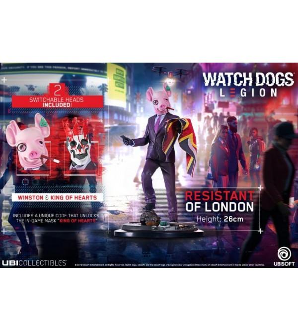 WATCH DOGS LEGION - THE RESISTANT OF LONDON FIGURU 26 CM