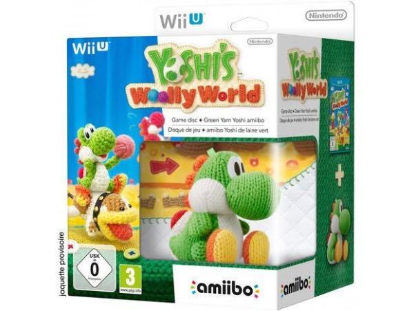 WII U YOSHI'S WOOLLY WORLD + AMIIBO