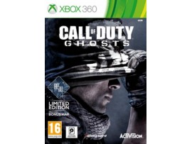 XBOX 360 CALL OF DUTY GHOSTS LIMITED EDITION