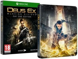 XBOX ONE DEUS EX MANKIND DIVIDED STEELBOOK EDT.