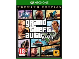 XBOX ONE GRAND THEFT AUTO V GTA 5  PREMIUM EDITION