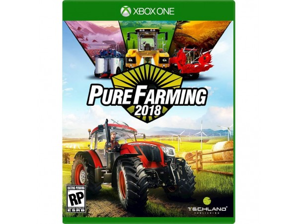 XBOX ONE PURE FARMING SIMULATOR 2018